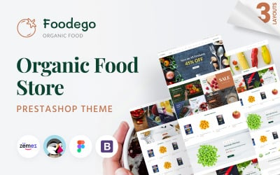 Foodego - Organic Food Store PrestaShop Theme