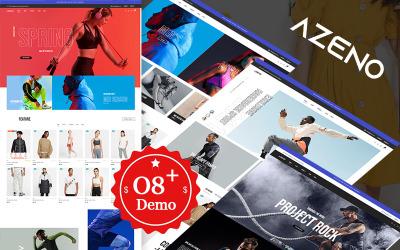 Azeno Elementor - Divat- és sportbolt Prestashop téma