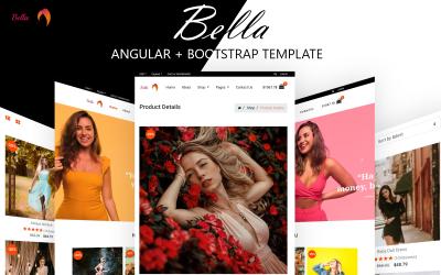 Bella Fashion - Modèle d'application responsive Angular + Bootstrap