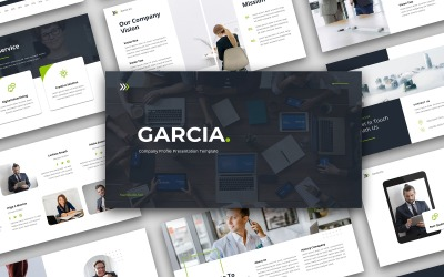 Garcia - Company Profile Presentation Keynote Template