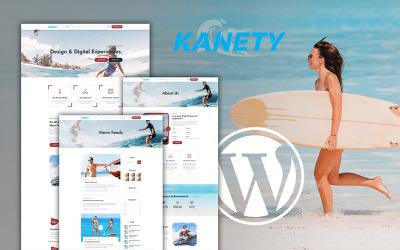 kenety Téma WordPress pro extrémní vodní sporty