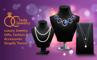 TadaJewelry - Luxus Responsive Shopify Theme