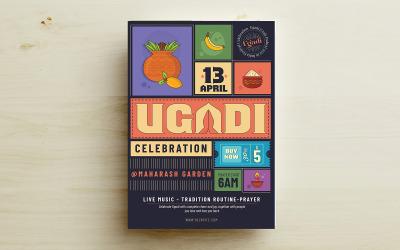 Ugadi Festival Flyer Corporate Template