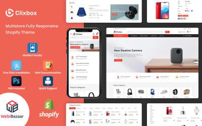 Clixbox - Multipurpose  Warehouse Shopify Theme