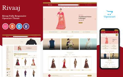Rivaaj - Wedding Responsive OpenCart Template