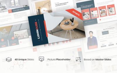 Luminouse - Furniture and Interior Design Presentation Template