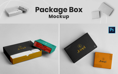 Package Box Product Mockup