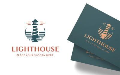 Modern Lighthouse Logo Template