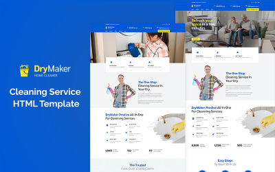 Drymaker - Cleaning Service Website Template