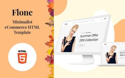 Flone - Minimal eCommerce Website Template