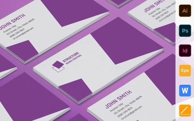 Professional Music Festival Business Card Template