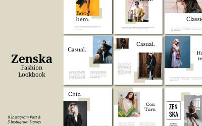 Zenska Vol I - Instagram Template Keynote