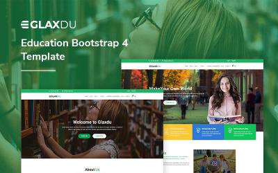 Glaxdu - Education Bootstrap4 Website Template