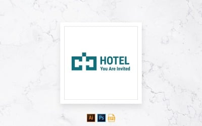 Ready-to-Use Hotel Logo Template