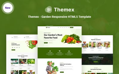 Themex - Garden Responsive HTML5 Website Template