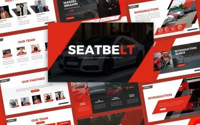 Seatbelt - Automotive Multipurpose PowerPoint Template