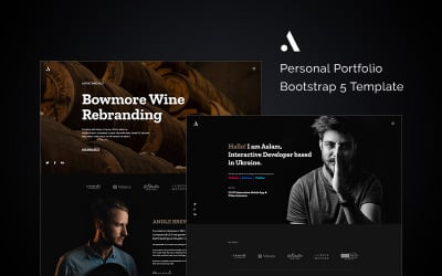 Andle - Personal Portfolio Bootstrap 5 Website Template