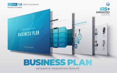 The Best Business Plan Keynote Template