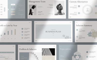 Ebby - Business Plan Keynote Template
