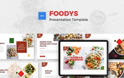 Foodys - Food Keynote Template