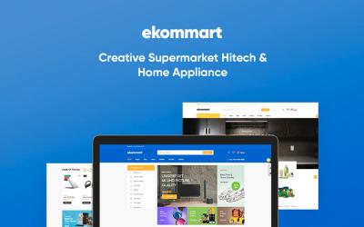 TM Ekommart - Perfect Supermarket for Hitech; Home Appliances Online store PrestaShop Theme