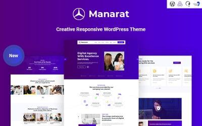 Manarat - Creative Responsive WordPress Theme