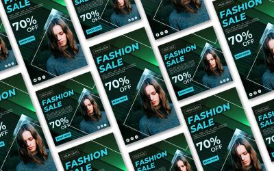 Mode zum Verkauf Social Media Post und Story Social Media