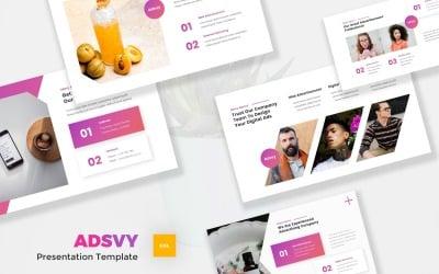 Adsvy - Advertisement Google Slides Template