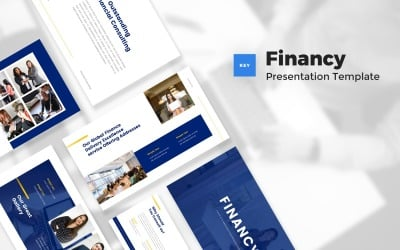 Financy - Financial & Investment Keynote Template