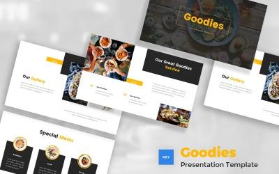 Goodies - Food & Beverages Keynote Template
