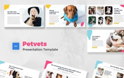 Petvets - Pet Care & Pet Shop Keynote Template
