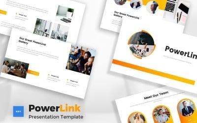 Powerlink - Pitch Deck Keynote Template