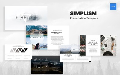 Simplism - Minimal Keynote Template