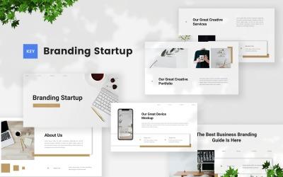 Branding - Startup Keynote Template