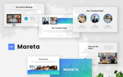 Mareta - Business Keynote Template