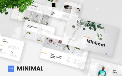 Minimal - Minimalist Keynote Template