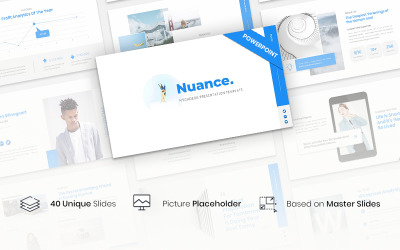 Nuance - Pitchdeck PowerPoint Template