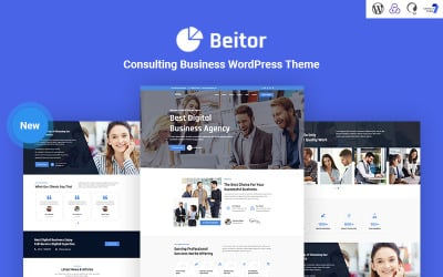 Beitor - Consulting Business Responsive WordPress Theme
