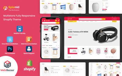 Splenid -  Multipurpose Responsive Shopify Template