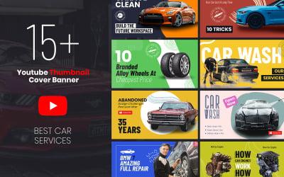 Car Service Youtube Thumbnail Social Media