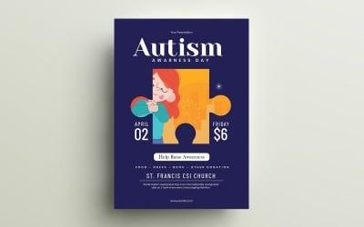 Autism Day Flyer
