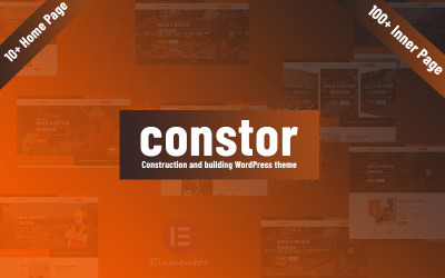 Constor - Construction and Building Responsive WordPress Theme