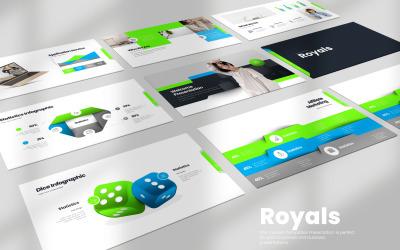 Royals Keynote Templates