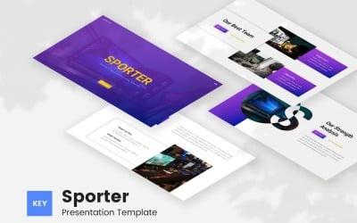 Sporter - Gaming Esport Keynote Template