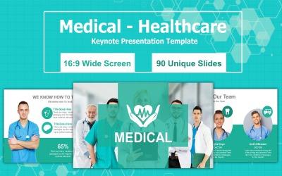 Medical - Healthcare Keynote Presentation Template