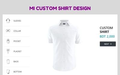 MI Benutzerdefiniertes Shirt Designer Jquery Plugin v1