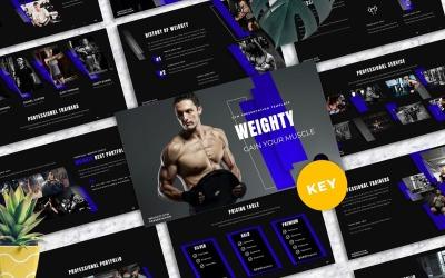 Weighty - Gym Keynote