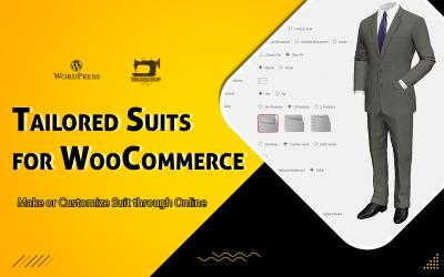 WooCommerce Tailored Suits - плагин для WordPress