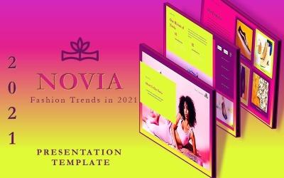 NOVIA - шаблон PowerPoint