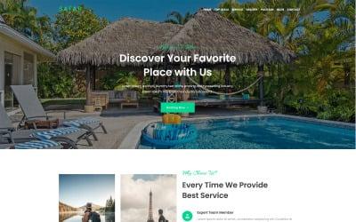 Safar - Tour and Travel Agency WordPress Theme